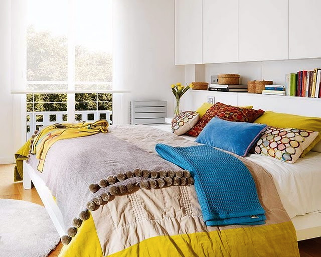 Colorful Master Bedroom – Colorful Master Bedroom