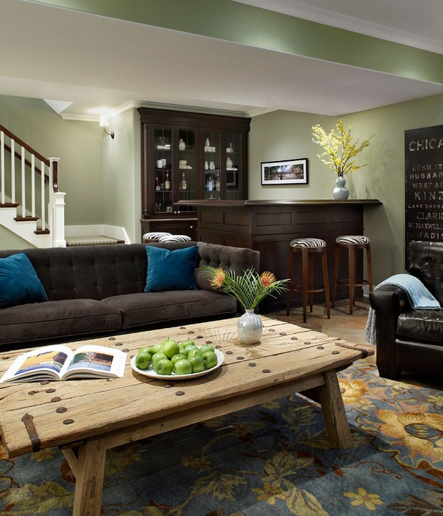 Living Room Paint Color Ideas With Brown Furniture Blues