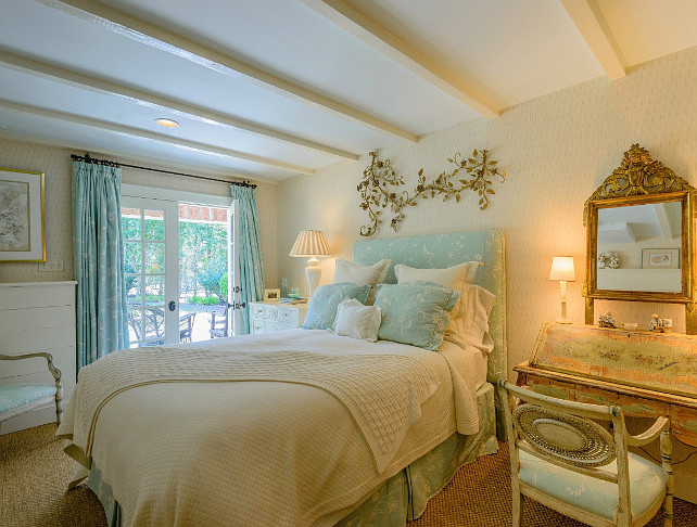 French Bedroom Design. Great French Bedroom decor. #Bedroom #French #Interiors
