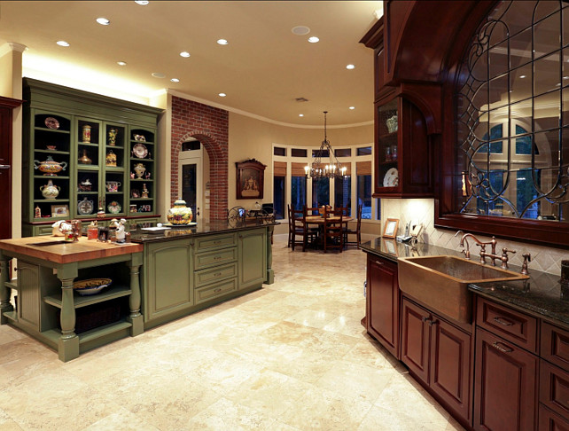Kitchen Island. Big Kitchen Island Ideas. #KitchenIsland #Big