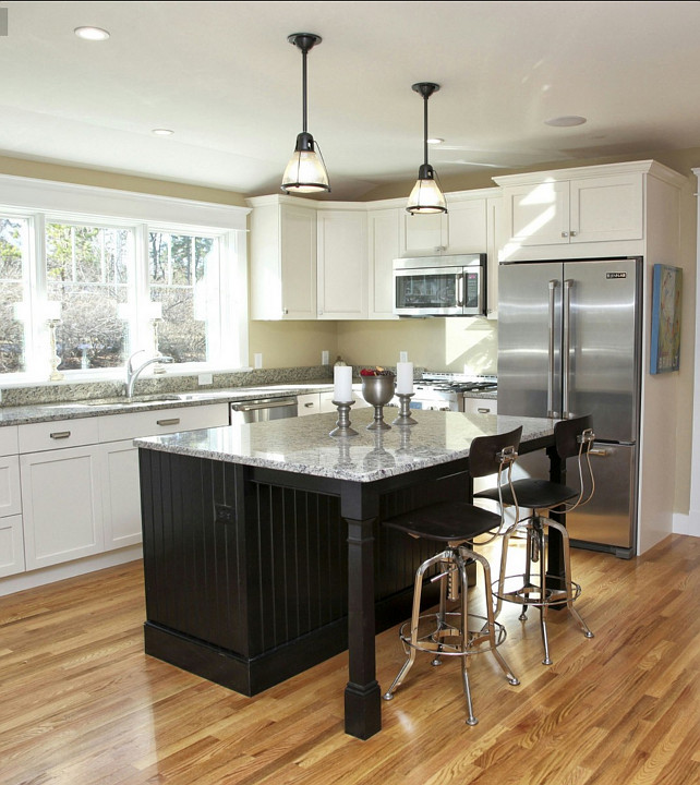 Kitchen Reno Ideas. Great kitchen inspiration for my kitchen reno. This is a nice kitchen that will not break the bank! #KitchenReno