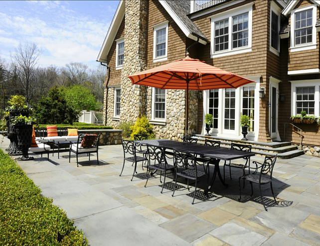 Patio Decorating Ideas. Classic Patio Decor. #Patio