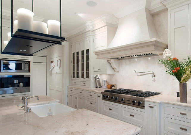Marble Countertop. Beautiful white marble countertop. #MarbleCountertop
