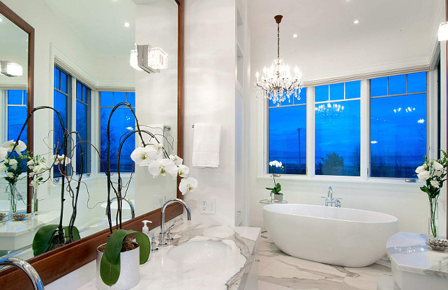 Bathroom Design Ideas. Classy Bathoom Design. I am in love with this bathroom.