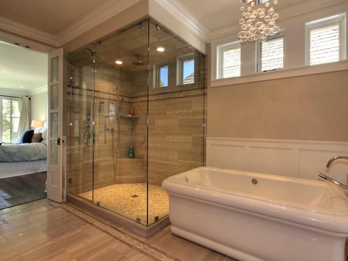 Lakehouse home bunch interior design ideas Accessorizing a small bathroom