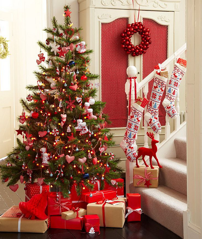 Home Design Ideas For Christmas: Interior Design Ideas: Christmas Decorating Ideas