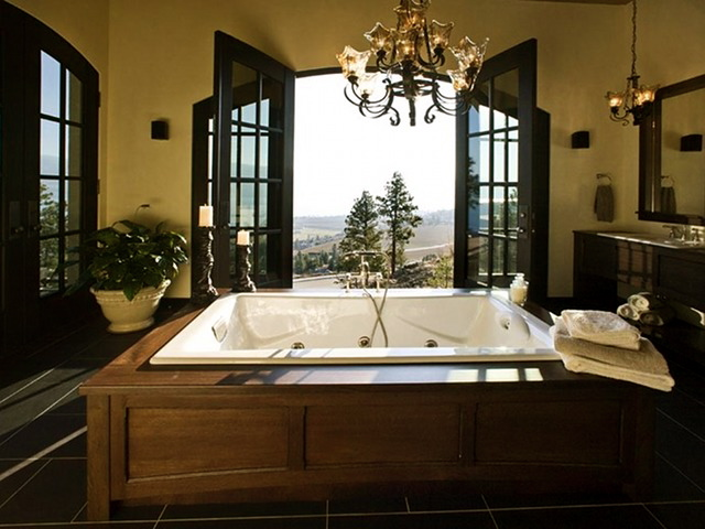 Spa Inspired Bathrooms