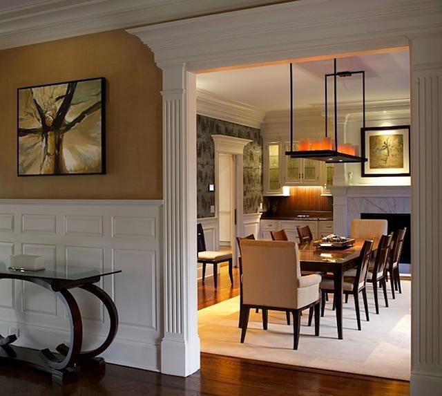 Dining Room Molding: Home Bunch Interior Design Ideas