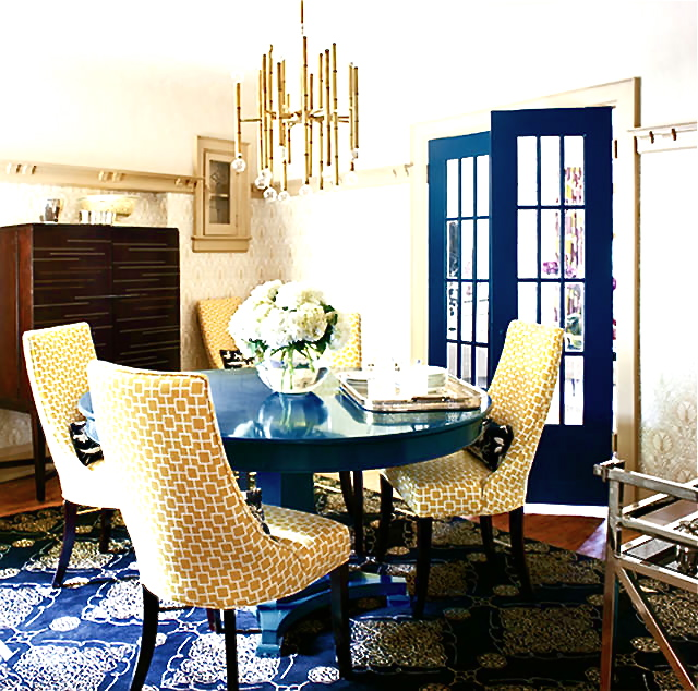 Yellow Fabric Dining Room Chairs - Dining Room Sets