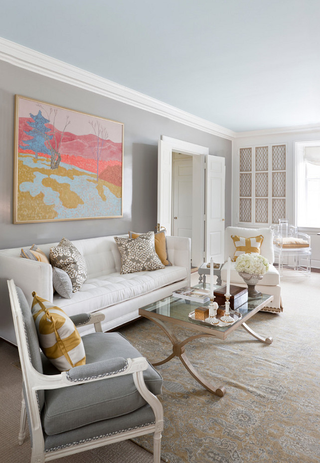 Show Living Rooms Already Decorated: Interior Design Ideas: Paint Color
